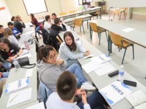 Students at Cantabria University, Spain